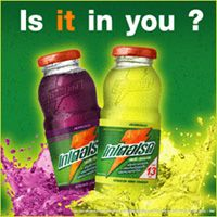 Gatorade Thirst Quencher Lime and Grape Flavors.