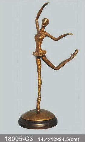 bronze figurine ballerina