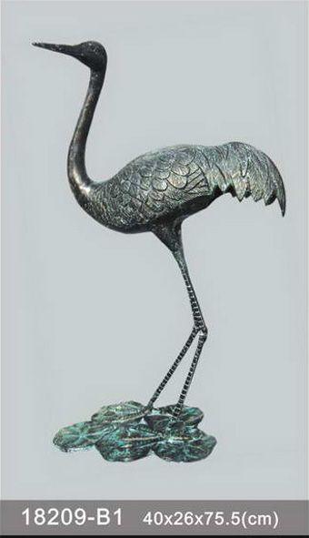 bronze figurine animal