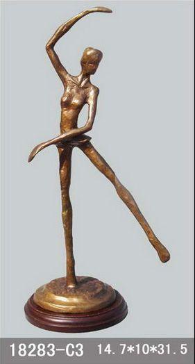 bronze statue ballerina