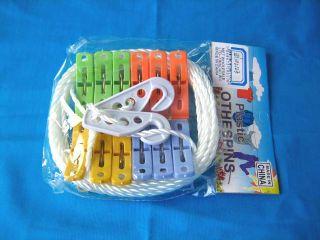 cloth peg with line