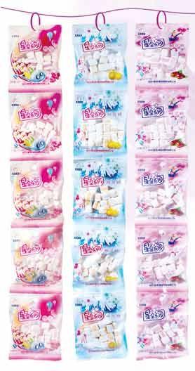 MR00 Strip Marshmallow Candy 20g