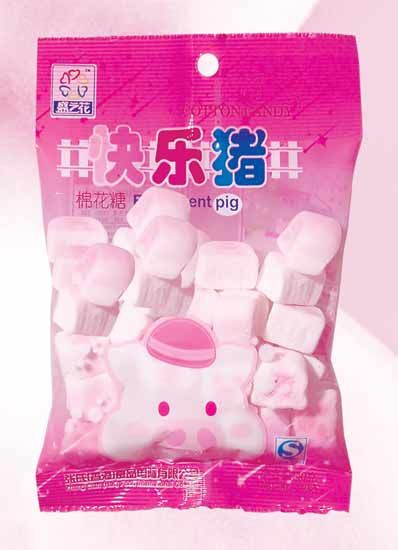 MR02 Happy Pig Marshmallow Candy 40g