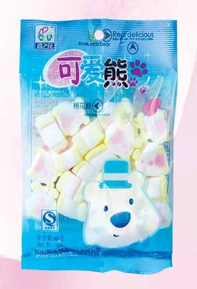 MR04 Cute Bear Marshmallow Candy 40g