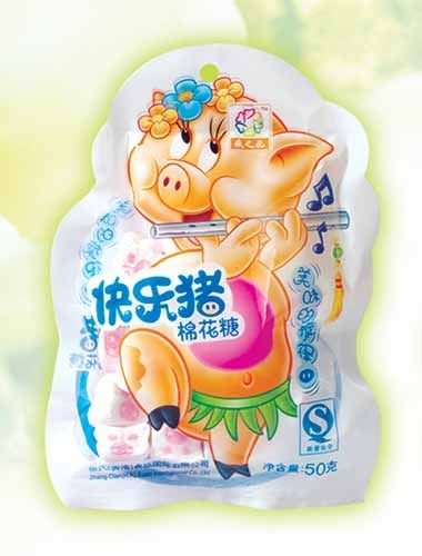 MS01 Happy Pig Marshmallow Candy 50g