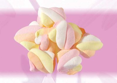ZS06 Twist Marshmallow Candy Dice 1kg
