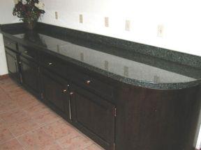 Black Granite Countertops and Island Tops