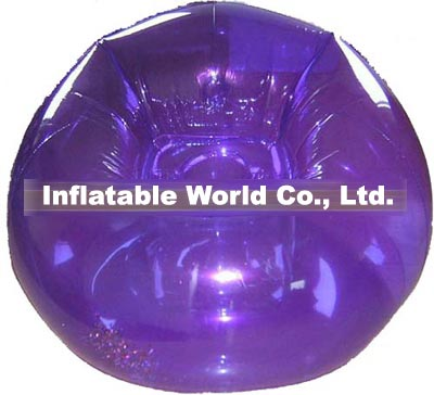 single inflatable chair
