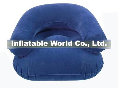 flocked air sofa