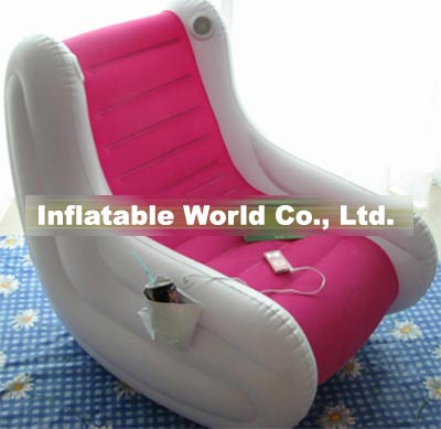 inflatable chair with speakers
