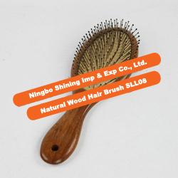 Natural Wood Hair Brush