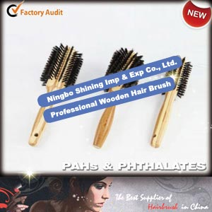 Professional Wooden Hair Brush