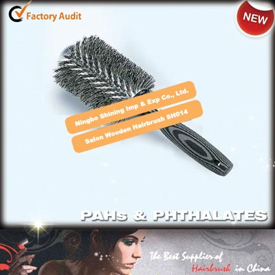 Salon Wooden Hairbrush