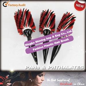 Fashion Plastic Hairbrush for Salon