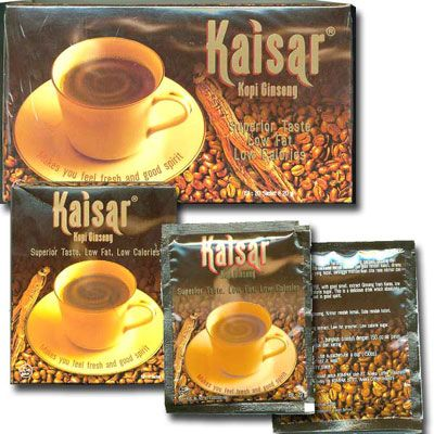 THE GREATEST KAISAR COFFEE GINSENG