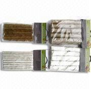 Porkhide White Twisted Sticks
